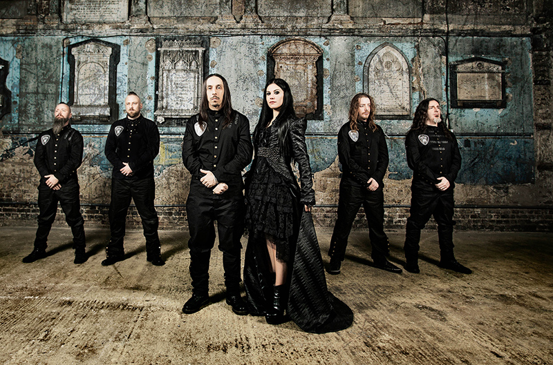 Gothic Metal at its best: Lacuna Coil (Foto: Steve Prue)