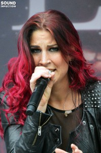 Delain beim Summer Breeze (Foto: Anne Swallow)