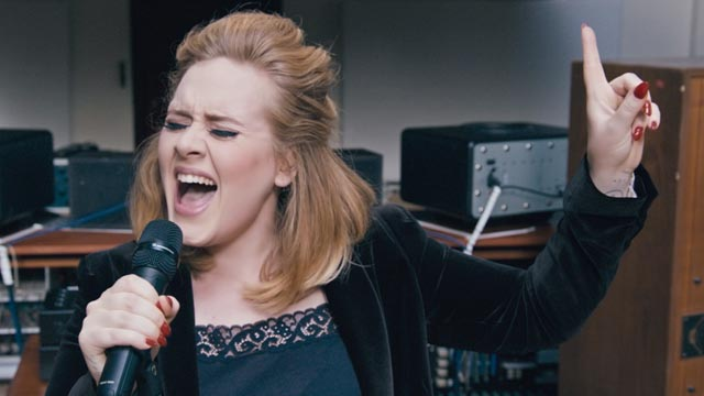 Adele in Aktion (Foto: XLRecordings)