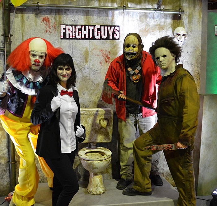 Photopoint der Fright Guys