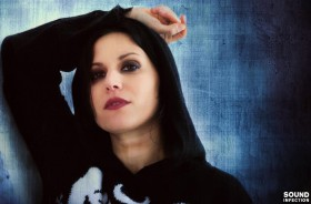 Lacuna Coil Sirene und Star Wars Fan Cristina Scabbia (Foto: Anne Swallow / Sound Infection)